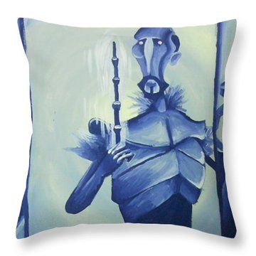 Tale Of The Three Brothers Throw Pillow by Lisa Leeman