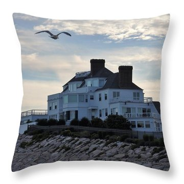 Taylor Swift Throw Pillow by L Mainville