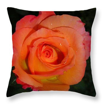 Tears ... Throw Pillow by Juergen Weiss