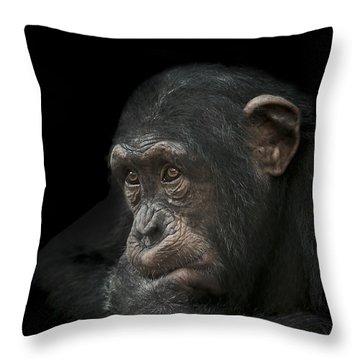 Tedium Throw Pillow by Paul Neville