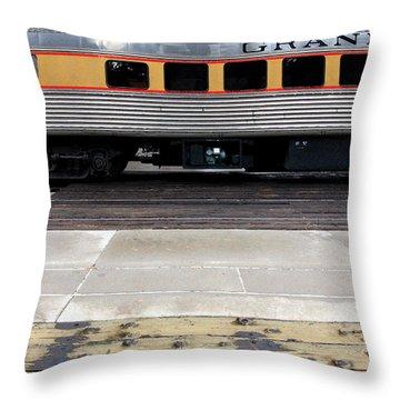 The Anasazi Throw Pillow by Joe Kozlowski