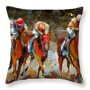 The Best Throw Pillow by Debra Hurd