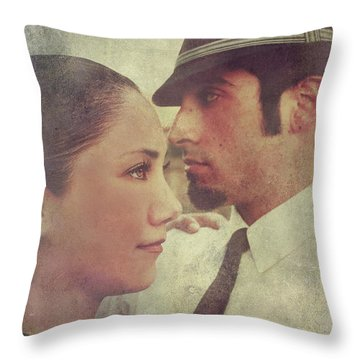 The Dance Student Throw Pillow by Laurie Search