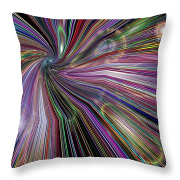 The Drain Throw Pillow by Tim Allen