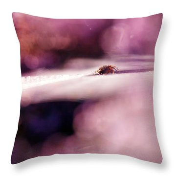The Galaxy Throw Pillow by Roeselien Raimond