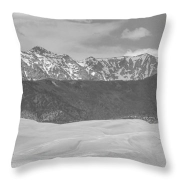 The Great Colorado Sand Dunes  Throw Pillow by James BO  Insogna