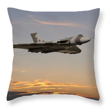 The Guardian Throw Pillow by Pat Speirs