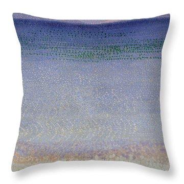 The Iles Dor Throw Pillow by Henri Edmond Cross