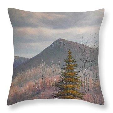 The Lonesome Pine Throw Pillow by Sean Conlon