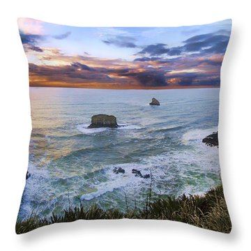 The Lookout Throw Pillow by James Heckt