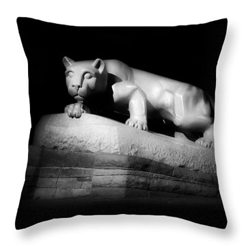 The Nittany Lion Of P S U Throw Pillow by Pixabay