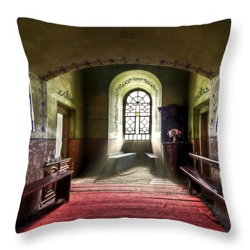 The Reading Room Throw Pillow by Evelina Kremsdorf
