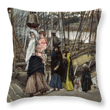 The Sojourn Throw Pillow by Tissot