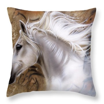 The Source II Throw Pillow by Sandi Baker
