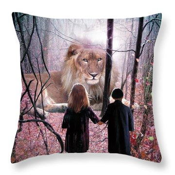The Way Throw Pillow by Bill Stephens