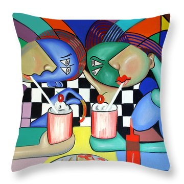 The Way It Use To Be Throw Pillow by Anthony Falbo