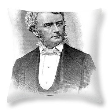 Thomas Scott (1823-1881) Throw Pillow by Granger