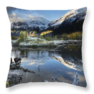 Thoreau Throw Pillow by Ed Boudreau