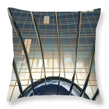 Thought Control Throw Pillow by Richard Rizzo