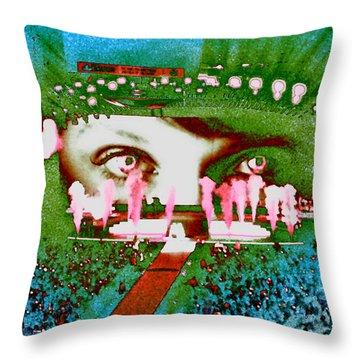 Through The Eyes Of Taylor Throw Pillow by Kim Peto