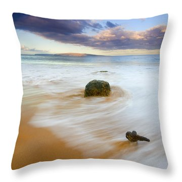 Tied To The Past Throw Pillow by Mike  Dawson