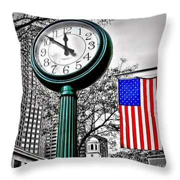 Time For Lunch Throw Pillow by DJ Florek