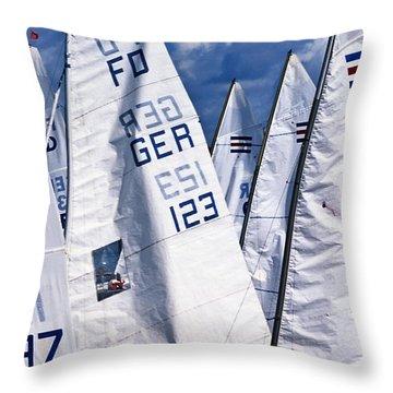 To Sea - To Sea  Throw Pillow by Heiko Koehrer-Wagner