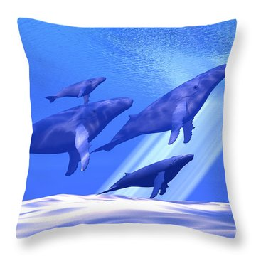 Together Throw Pillow by Corey Ford