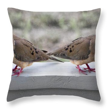 Together For Life Throw Pillow by Betsy Knapp