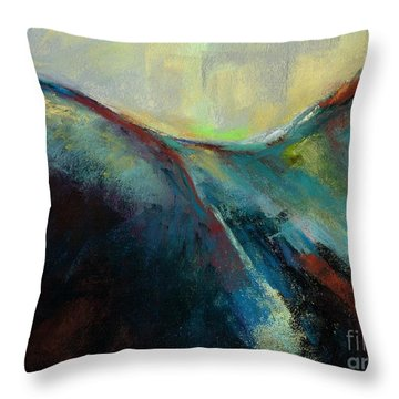 Top Line Throw Pillow by Frances Marino