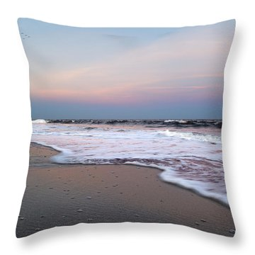 Topsail Dome-esticated Evening Throw Pillow by Betsy Knapp