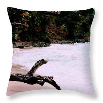 Tortola Bvi Throw Pillow by Tom Prendergast