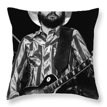 Toy Caldwell Live Throw Pillow by Ben Upham