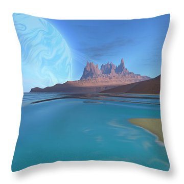 Tripoli Throw Pillow by Corey Ford