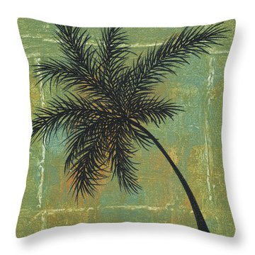 Tropical Splash 4 By Madart Throw Pillow by Megan Duncanson