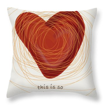 Throw Pillow featuring the painting True Love by Frank Tschakert