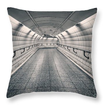 Turning Point Throw Pillow by Evelina Kremsdorf