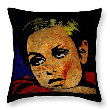 Twiggy Throw Pillow by Otis Porritt