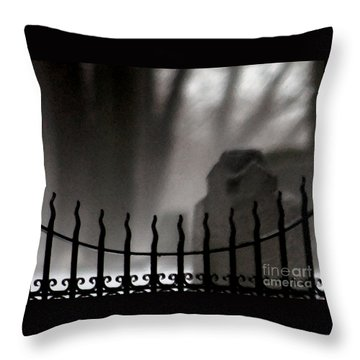 Twilight Beyond Grace Throw Pillow by Linda Shafer