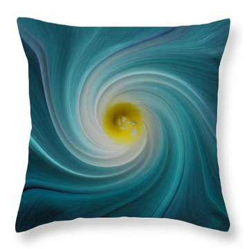 Twisted Glory Throw Pillow by Michael Peychich