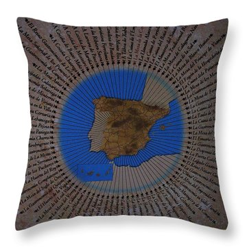 Una Seleccion Especial ... Throw Pillow by Juergen Weiss