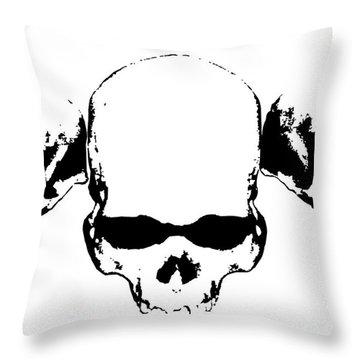 Untitled No.30 Throw Pillow by Caio Caldas