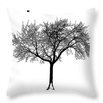 Untitled No.63-01 Throw Pillow by Caio Caldas