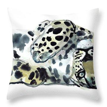 Upside Down Throw Pillow by Mark Adlington