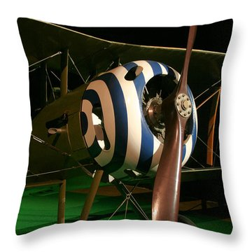 Usaf Museum Wwi Throw Pillow by Tommy Anderson