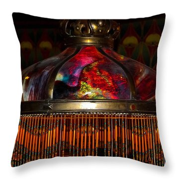 Variegated Antiquity Throw Pillow by DigiArt Diaries by Vicky B Fuller