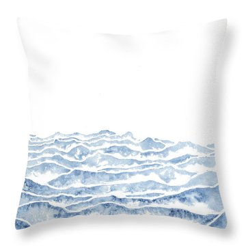 Vast Throw Pillow by Emily Magone