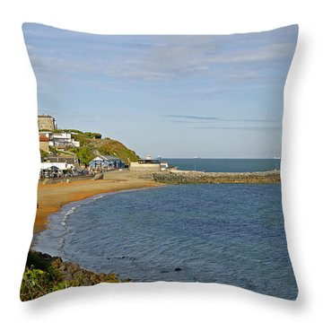 Ventnor Bay Throw Pillow by Rod Johnson