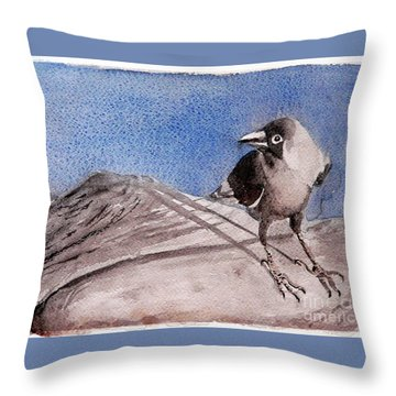 View Throw Pillow by Jasna Dragun