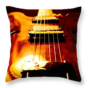 Vintage Throw Pillow by Christopher Gaston